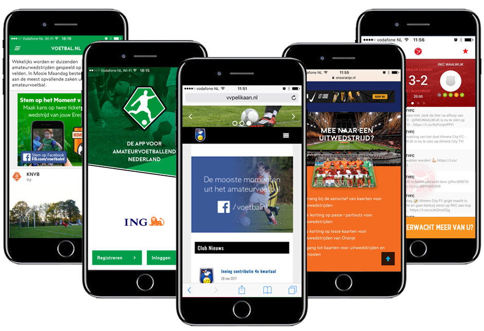 Sports Engineers - SportsAds integratie mobiel