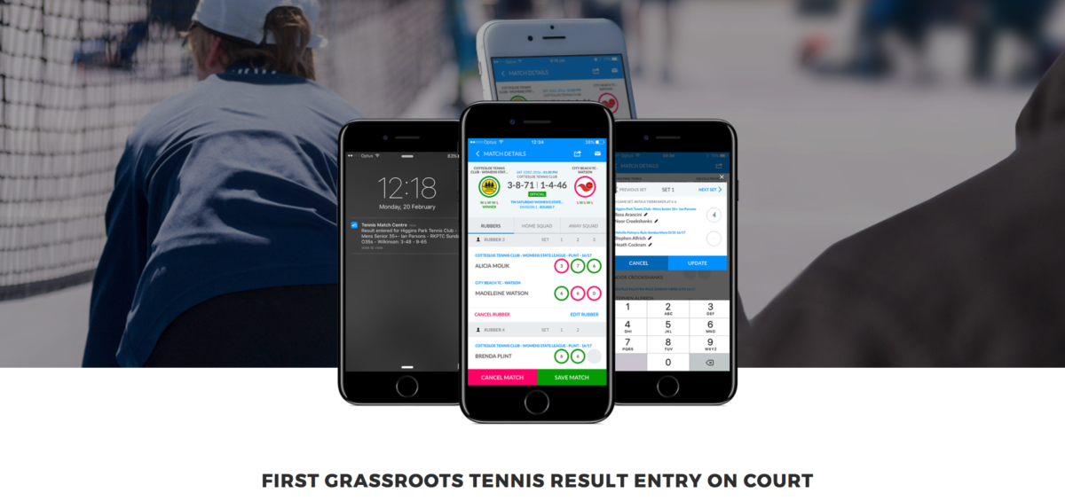 Sports Engineers Software - Tennismatchcentre