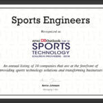 Sport Engineers - Sports Technology Provider 2018